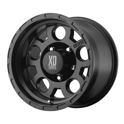 KMC ENDURO 18x9 8x170.00 MATTE BLACK (0 mm)  KM52289087700A