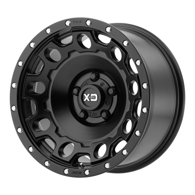 XD HOLESHOT 18x9 8x180.00 SATIN BLACK (18 mm)