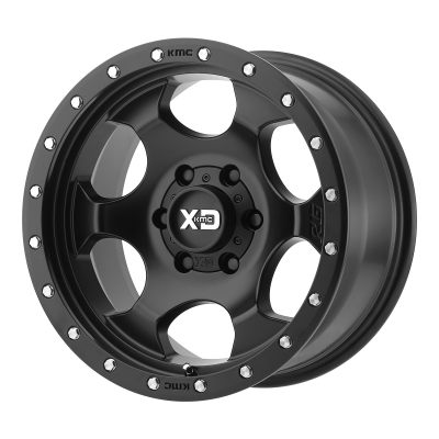 XD RG1 17x9 8x165.10 SATIN BLACK (-12 mm)