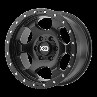 XD RG1 17x9 8x165.10 SATIN BLACK (-12 mm)