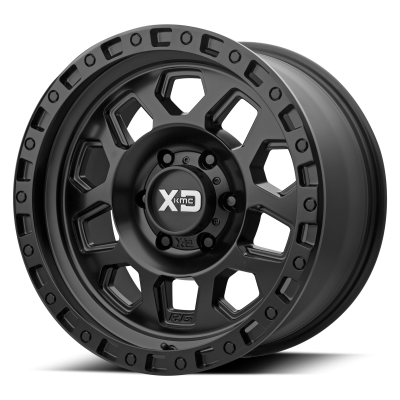 XD RG2 18x9 8x170.00 SATIN BLACK (0 mm)