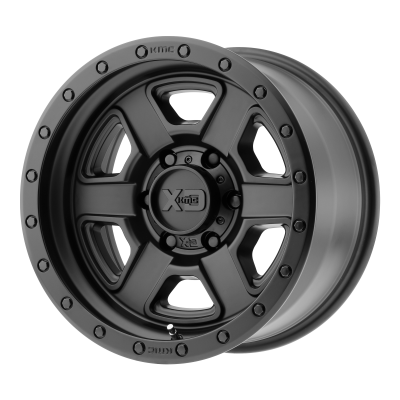 XD FUSION OFF-ROAD 18x9 6x139.70 SATIN BLACK (0 mm)