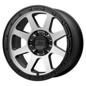 XD ADDICT 2 18x8.5 8x180.00 MATTE BLACK MACHINED (0 mm)
