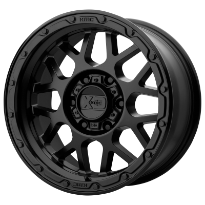 XD GRENADE OR 18x8.5 8x180.00 MATTE BLACK (0 mm)