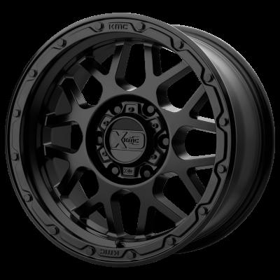 XD GRENADE OR 18x8.5 8x180.00 MATTE BLACK (0 mm)