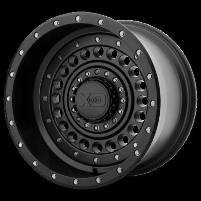 XD PANZER 20x9 8x180.00 SATIN BLACK (0 mm)
