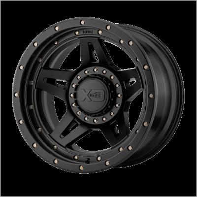 XD BRUTE 17x9 8x180.00 SATIN BLACK (-12 mm)