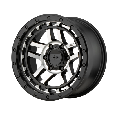 KMC RECON 18x8.5 6x120.00 SATIN BLACK MACHINED (18 mm)  KM54088577518
