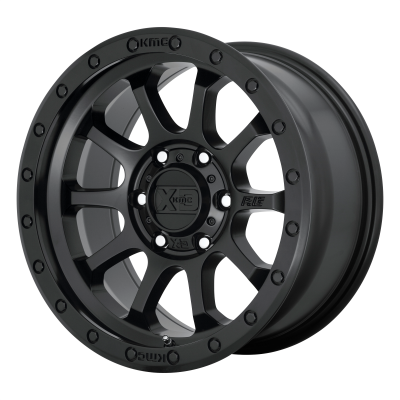XD RG3 18x9 8x180.00 SATIN BLACK (18 mm)