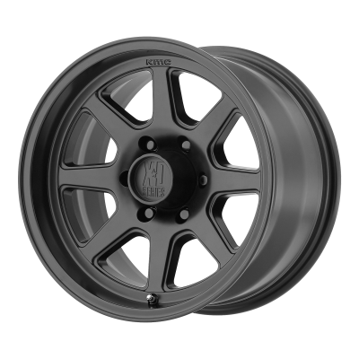 XD TURBINE 17x9 6x139.70 SATIN BLACK (18 mm)