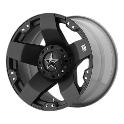 XD ROCKSTAR 18x9 8x170.00 MATTE BLACK (0 mm)