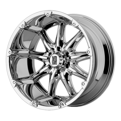 XD BADLANDS 18x9 8x170.00 CHROME (-12 mm)