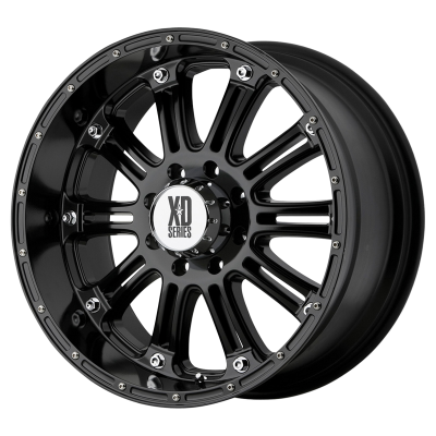 XD HOSS 18x9 8x170.00 GLOSS BLACK (-12 mm)