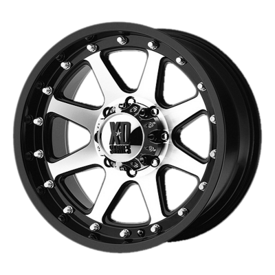 XD ADDICT 18x9 5x139.70 MATTE BLACK MACHINED (-12 mm)  XD79889055512N