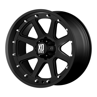 XD ADDICT 18x9 8x180.00 MATTE BLACK (18 mm)