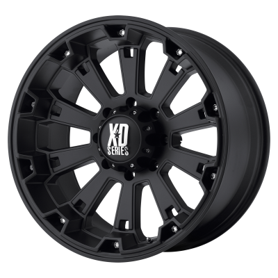 XD MISFIT 18x9 8x180.00 MATTE BLACK (0 mm)