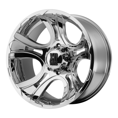XD CRANK 18x9 6x139.70 CHROME (0 mm)