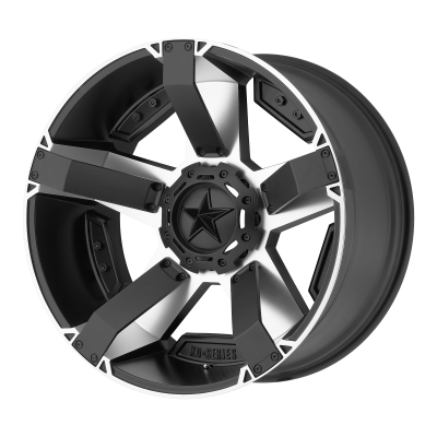 XD RS2 17x8 5x114.30/5x127.00 MATTE BLACK MACHINED W/ ACCENTS (35 mm)  XD81178054535