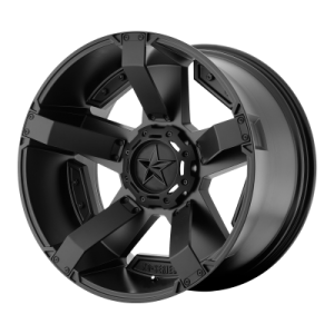 XD RS2 20x10 5x139.70/5x150.00 MATTE BLACK W/ ACCENTS (-24 mm)  XD81121086724N