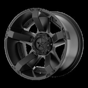 XD RS2 20x10 5x139.70/5x150.00 MATTE BLACK W/ ACCENTS (-24 mm)  XD81121086724N