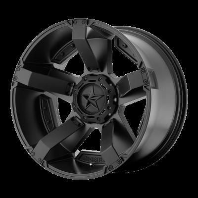 XD RS2 18x9 8x180.00 MATTE BLACK W/ ACCENTS (0 mm)