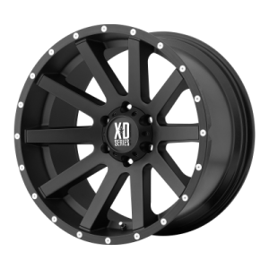 XD HEIST 18x8 6x114.30 SATIN BLACK (35 mm)  XD81888064735