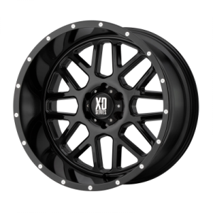 XD GRENADE 18x9 8x180.00 GLOSS BLACK (18 mm)