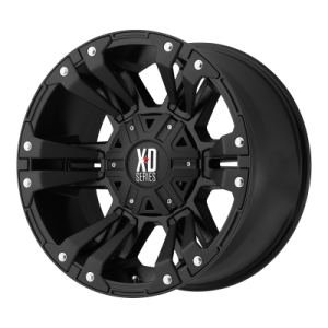 XD MONSTER 2 18x9 8x180.00 MATTE BLACK (18 mm)