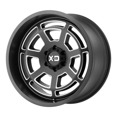 XD BONES 20x9 8x180.00 SATIN BLACK MILLED (18 mm)  XD82429088918