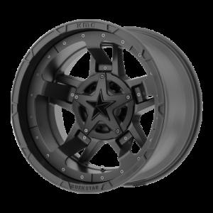 XD RS3 18x9 8x180.00 MATTE BLACK (0 mm)