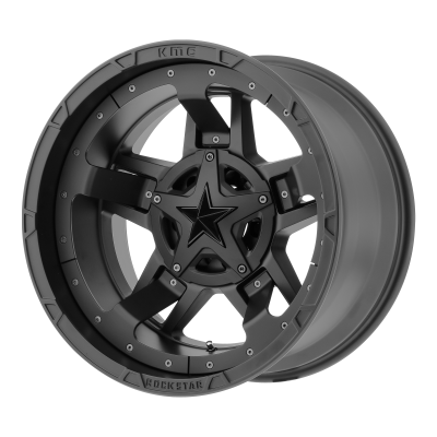 XD RS3 18x9 8x180.00 MATTE BLACK (0 mm)