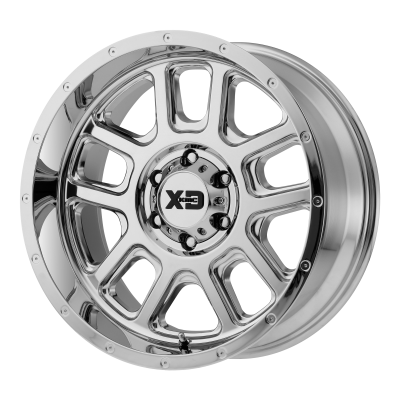 XD DELTA 20x9 6x139.70 CHROME (-12 mm)