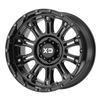 XD HOSS II 18x9 8x180.00 GLOSS BLACK (18 mm)