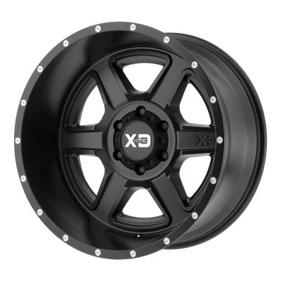 XD FUSION 20x10 8x180.00 SATIN BLACK (-24 mm)
