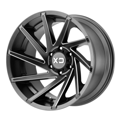 XD CYCLONE 20x9 5x127.00 SATIN GRAY MILLED (18 mm)  XD83429050418