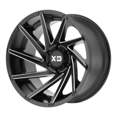 XD CYCLONE 20x9 8x180.00 SATIN BLACK MILLED (18 mm)