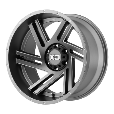 XD SWIPE 18x9 6x135.00 SATIN GRAY MILLED (18 mm)  XD83589063418