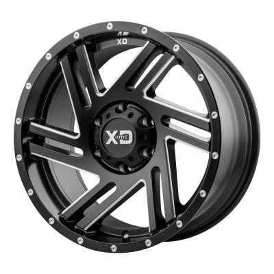 XD SWIPE 20x9 8x170.00 SATIN BLACK MILLED (-12 mm)