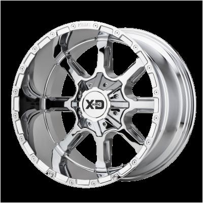 XD MAMMOTH 20x9 8x180.00 CHROME (18 mm)