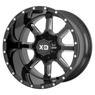 XD MAMMOTH 20x9 6x114.30/6x139.70 GLOSS BLACK MILLED (18 mm)  XD83829070318
