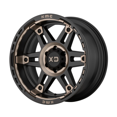 XD SPY II 20x9 8x180.00 SATIN BLACK W/ DARK TINT (18 mm)