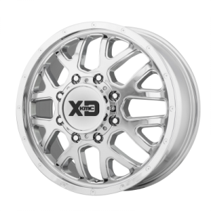 XD GRENADE DUALLY 17x6.5 8x210.00 CHROME - FRONT (111 mm)