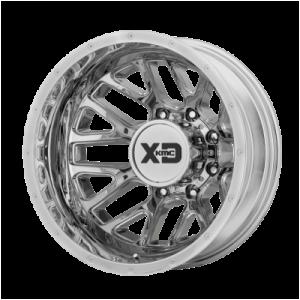 XD GRENADE DUALLY 17x6.5 8x210.00 CHROME - REAR (-155 mm)
