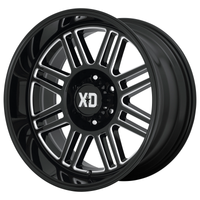 XD CAGE 20x9 8x180.00 GLOSS BLACK MILLED (18 mm)
