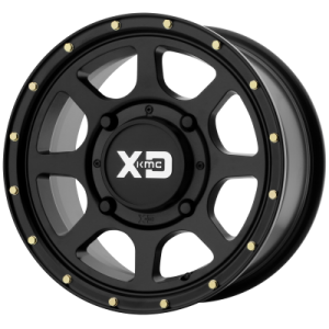 XD ATV ADDICT 2 15x6 4x137.00 SATIN BLACK (38 mm)  XS13456048738