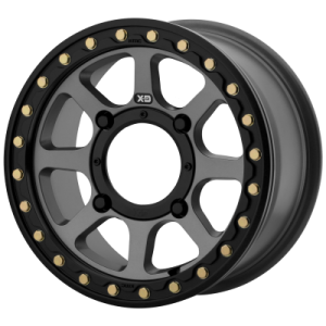 XD ATV ADDICT 2 BEADLOCK 14x10 4x137.00 SATIN GRAY (0 mm)  XS23441048400