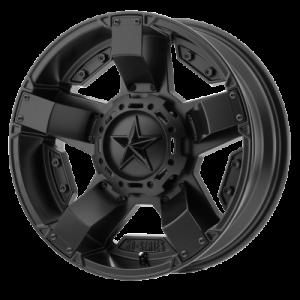 XD ATV RS2 18x7 4x137.00 SATIN BLACK (0 mm)  XS81187048700