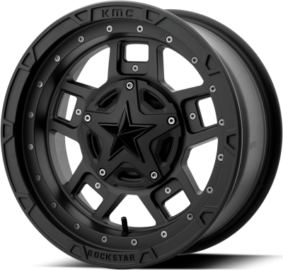 XD ATV RS3 18x7 4x156.00 SATIN BLACK (0 mm)