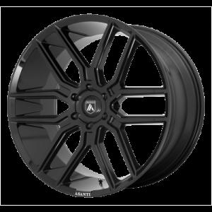 ASANTI BARON 24x10 6x139.70 GLOSS BLACK (15 mm)  ABL28-24106815BK
