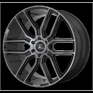 ASANTI BARON 24x10 6x139.70 GLOSS BLACK W/ GRAY TINT (15 mm)  ABL28-24106815GY